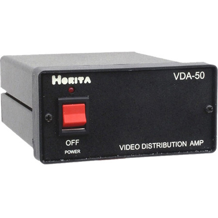 Horita VDA-50 Wideband Multiple I/O Video Distribution Amplifier