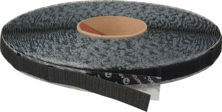 VELCRO® Brand 190882 Tape On A Roll Pressure Sensitive Acrylic Adhesive - Hook Tape - 5/8 Inch x 25 Yards