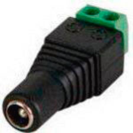 DC Plug 5.5x2.1mm Female to Screw Terminal