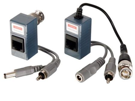Velleman CV035 Video/Audio/Power Balun - Pair