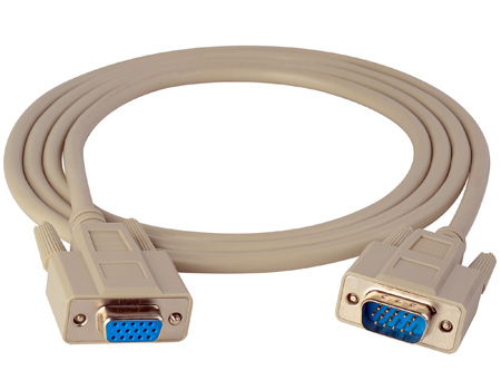 TecNec VGA Male-Female Cable 15ft