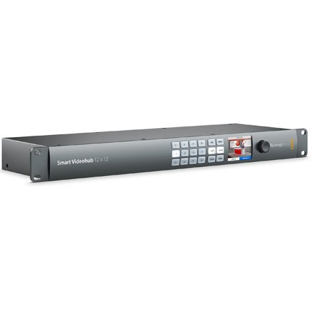 Blackmagic Design Smart Videohub 12x12 SD/HD/Ultra HD Mixed Format Router