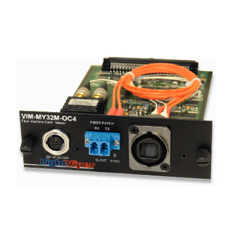 Fiberplex VIM-MY32M-E-02 Yamaha MY Master Card 8x16 Multimode OpticalCon Duo