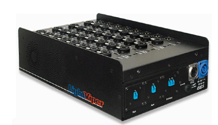 Fiberplex VIS-1832-E-02 Stagebox 32×8 Analog Head w/2 32 Channel Splits Multimode OpticalCon