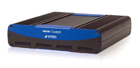 VITEC MGW D265 Portable HEVC and H.264 IP Decoder