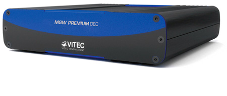 VITEC MGW Premium Dual HD MultiChannel H.264 Encoder
