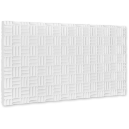 Box of 4 White Sonex Valueline 24 x 48 x 2-1/2 Inch Thick