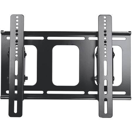 VVP LCD-MID-FTB Mid-Size Flat Panel Flush w/Tilt Mount - Black