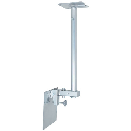 VMP LCD-2537C Large LCD Monitor Ceiling Mount for 25 to 37 Inch Displays- Silver