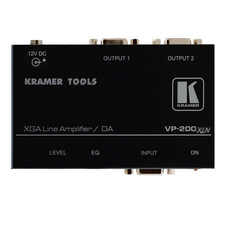 Kramer VP-200XLN - 1:2 Computer Graphics Video Line & Distribution Amp
