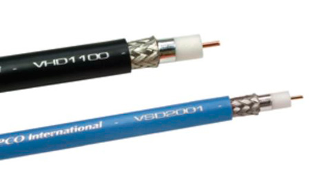 Gepco VPM2000TS High Definition SDI Coax - 1000ft. Violet