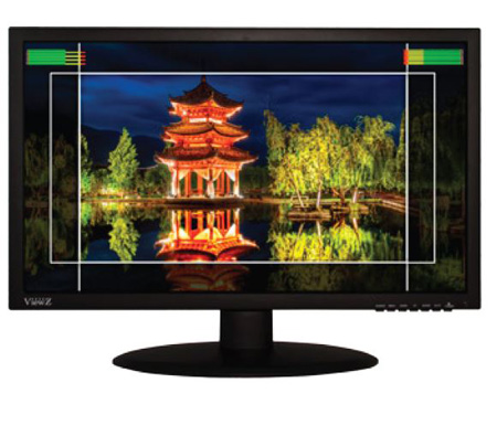 Viewz VZ-215LED-SN 21.5 Inch Low-Cost Broadcast Quality SDI LED Monitor