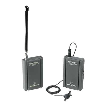 AT Pro88W Camera Mountable VHF Lavalier Pro 88W VHF Wireless System
