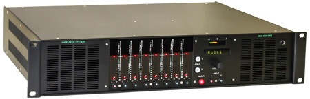 Ward Beck AMS16-2AM 16 Channel Audio Meter & Monitoring System with Dual 3G/HD/SD-SDI Embedded Audio Inputs 2RU
