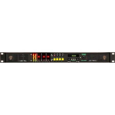 Ward-Beck AMS8-1AA/110 Multichannel Audio Monitor w/Analog & 110 Ohm Bal AES/EBU