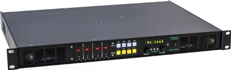 Ward-Beck 8 Channel Audio Meter Monitor w/ 4 AES/EBU In (75 & 110 Ohm) Dolby E/AC3 Decoder & 2 In 3G/HD/SDI Demuxer