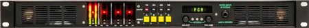 Ward-Beck AMS8-1AAE/110 Multichannel Audio Monitor -110 Ohm Balanced AES/EBU