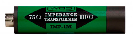 Ward-Beck IMP-1M In Line Impedance Transformer - XLR(M) to BNC
