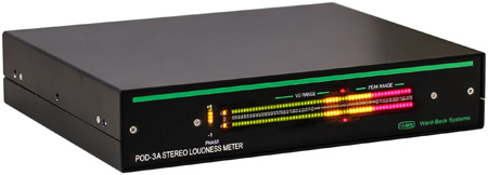 Ward Beck POD3A Analog Stereo Loudness Meter