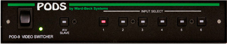 Ward Beck POD9 6x1 Analog Video Switcher
