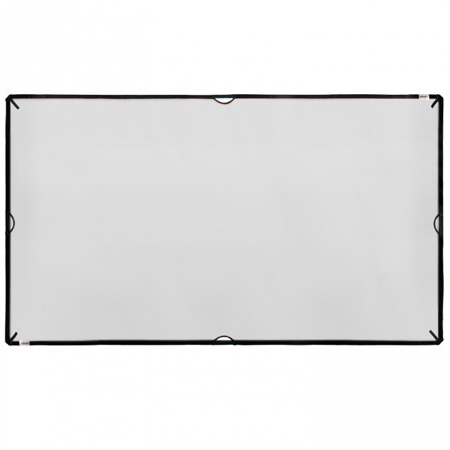 Westcott 1855 Medium 42-Inch x 72-Inch 3/4 Stop Black Net Diffuser Panel