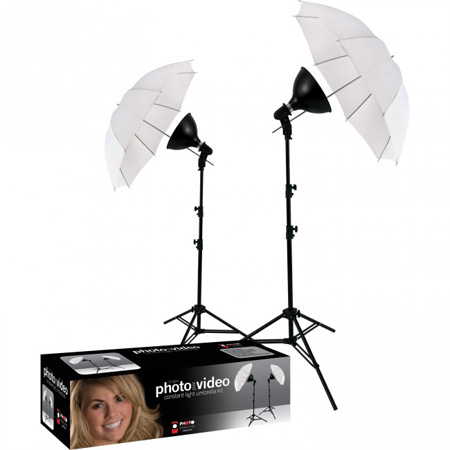 Westcott 406 2-Light uLite Umbrella Kit