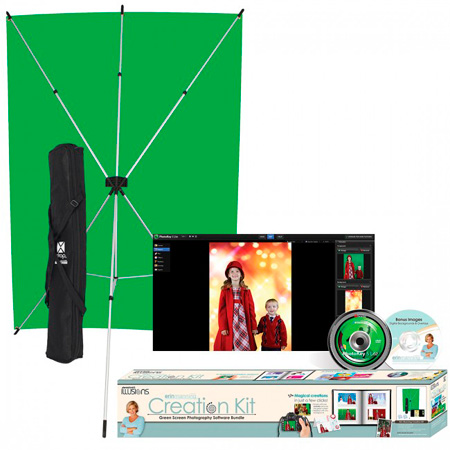 Westcott 409 Erin Manning Creation Kit - Complete Green Screen Photo Kit
