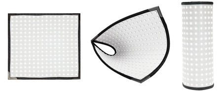 Westcott 7420 Flex Tungsten Kit- Flexible LED Mat Light with 1/4-Stop Diffusion & Mount