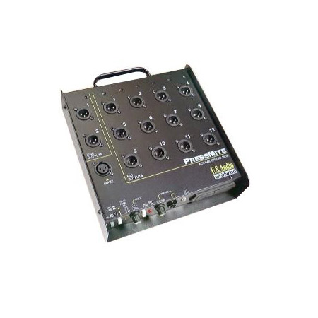 PressMite 12 Mic Output Active Press Feed Box
