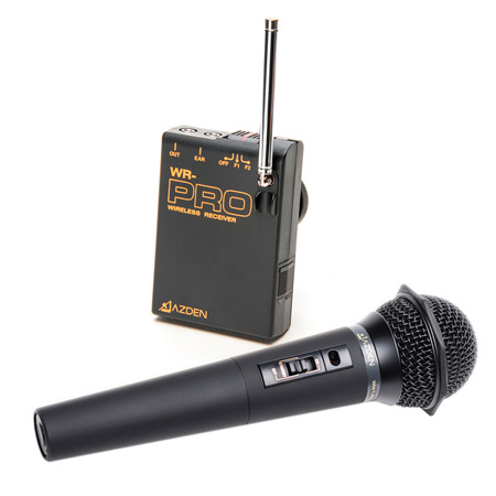 Azden WHX-PRO Camera-Mount Wireless Handheld Microphone System