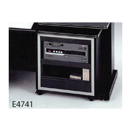 Winsted E4741 19-1/4 Inch 11U Roll-Up Rack Cabinet