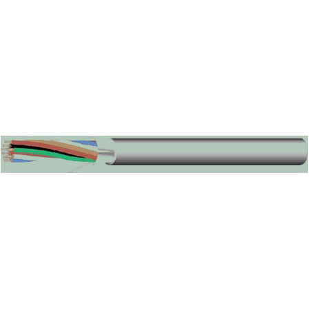 West Penn 253244B 18/4 Stranded Shielded Speaker Cable 1000 Feet