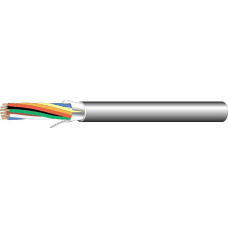 West Penn 253272B 22/10 Stranded Plenum Communication Cable - 1000 Ft.