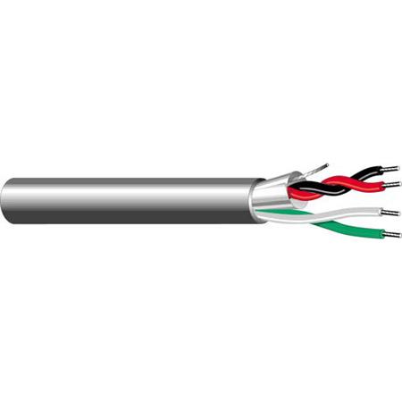 West Penn 25359B 4-Conductor 20 Gauge Plenum Control Cable 500 Feet