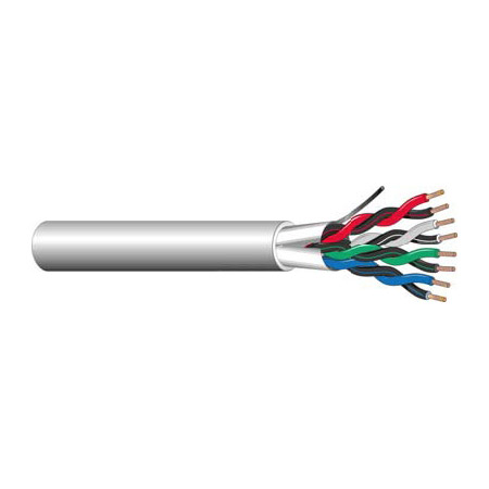 West Penn 3752 18 AWG 3 Pair Communication Cable (1000 Ft.)