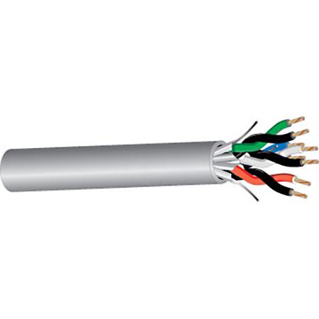 West Penn Wire D25439 Plenum Audio Quad Twisted Pair Cable per foot