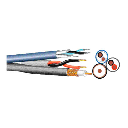 West Penn PTZ815 Special Purpose CCTV Cable 1000 Ft.