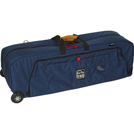 Porta-Brace WRB-3OR Wheeled Run Bag BLACK