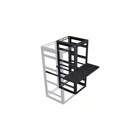 Middle Atlantic WS2-M26-18 2 Bay MRK Laminate Rackmount Writing Shelf