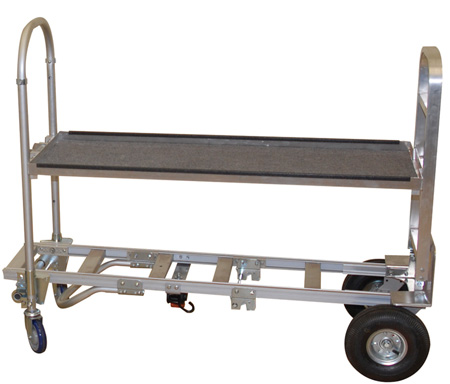 Wesco 220126 Spartan Senior Video Production Convertible Shelf Cart