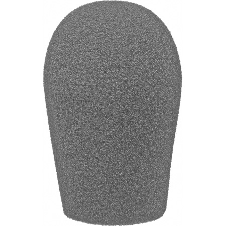 WindTech 1200 Series 1200-07 Medium Size Foam Windscreen Teardrop 3/4in Tangerine