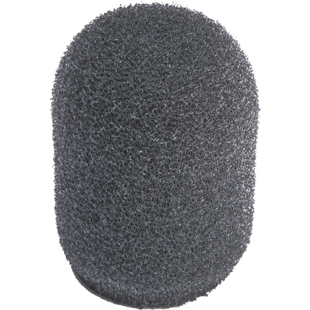 WindTech 500 series Military Grade Foam Windscreen 500-13  1/2-Inch Light Grey for headset/ podium or lavalier type micr