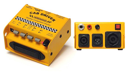 Whirlwind Cab Driver Tester - Speaker/ Polarity/ Impedance/ Pink Noise Generator