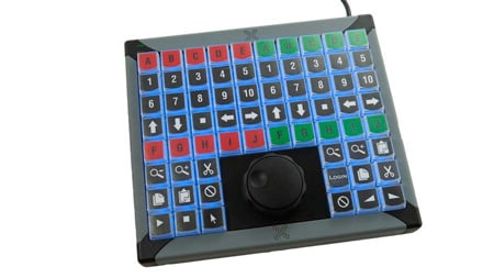 X-keys XK-68 Jog & Shuttle for Windows or Mac