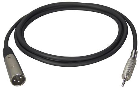 TecNec Premium Quality XLR Male-Mini Male Audio Cable 3 Ft
