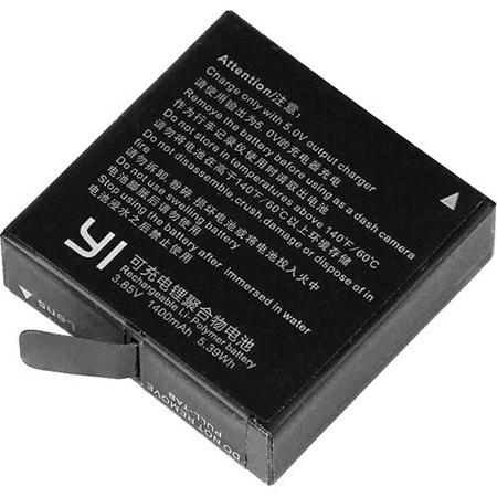 YI Technology 91016 YI 4K/4Kplus Action Camera Battery Replacement - Li-Ion