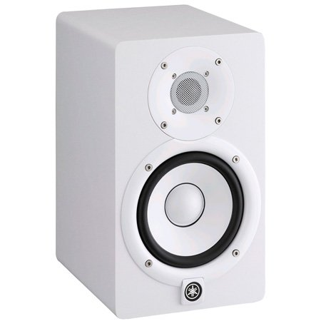 Yamaha HS5 Powered Studio Monitor - White