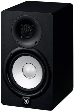 Yamaha HS5 70 Watt 2-Way Bi-Amp Powered Nearfield Studio Monitor - Each - Black