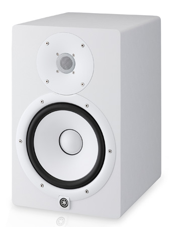 Yamaha HS8 Powered Studio Monitor - White