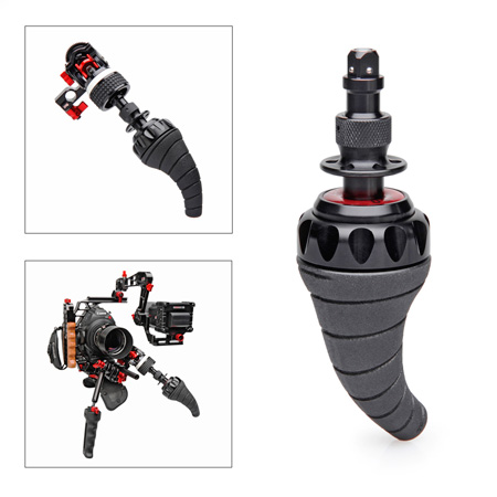 Zacuto Z-TRN Tornado Grip to Connect to Z-Drive